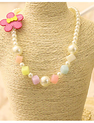Girls Necklace,All Seasons Others Green / Red