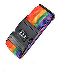Rainbow Travel Luggage Trolley Luggage Lock Bundling Belt Strap