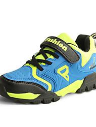 Boy's Sneakers Spring / Fall Comfort Tulle Casual Flat Heel Magic Tape Green / Royal Blue / Khaki Hiking