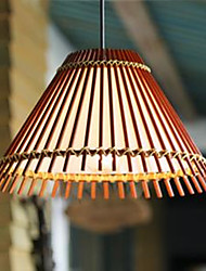 Droplight Bamboo Lamp Southeast Asian Garden Restaurant Bar Counter Corridor Droplight