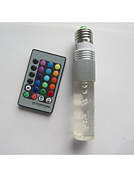 E27 B22 85V-265V 100-210Lm 3W RGB Crystal Spotlight Remote Control Lights 16 Full-color Lights