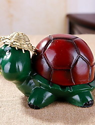 Cartoon Resin Turtle Ashtray Creative Home Decoration