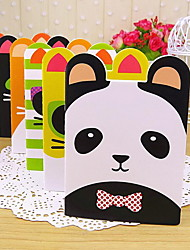 Small Cute Cartoon Animal Shaped Notebook (Random Colors)