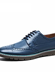 Men's shoes high quality 2016 AOKANG brand casual men Pierced shoes flats genuine leather shoes breathing Oxford shoes