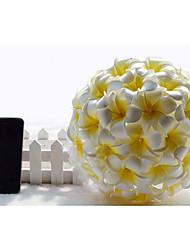 """Fleurs de mariage Rond Lis Bouquets Mariage Satin 7.87""""(Env.20cm)"""