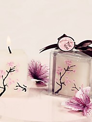Beter Gifts® Bridesmaids / Bachelorette Recipient Gifts - Japanese Sakura Candle DIY Wedding Party Favors