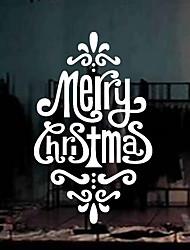 Christmas Window Sticker Contemporary , Art Deco 68*42CM
