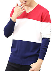 Spring and autumn and winter men's sweater sweater T-shirt a Korean slim Turtleneck Sweater Shirt Youth tide