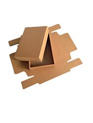 jaune emballage couleur&expédition kraft importe boîtes d'emballage de 160x110x40mm un paquet de cinq