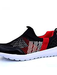 Boy's / Girl's Sneakers Spring / Fall Comfort PU Casual Flat Heel Slip-on Black / Blue / Pink