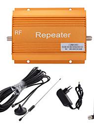 celular 850MHz cdma980 telefone celular amplificador de sinal de reforço repetidor + ouro antena