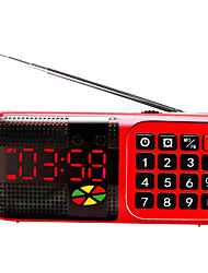 Speakers Can Fast Forward Rewind MP3 Alarm Clock Radio Car Audio