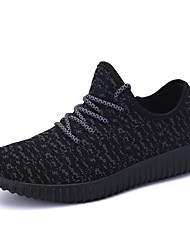 Running Running Shoes Men's / Women's Anti-Slip / Damping / Breathable Coconut Shoes/Yeezy Boost Leisure Sports White / Black