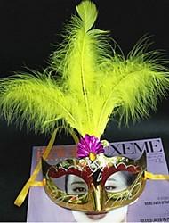 Plastique Décorations de Mariage-1piece / Set Masque Halloween Vintage Theme Rouge / Rose / Bleu / Jaune / Fuchsia / VioletPrintemps /