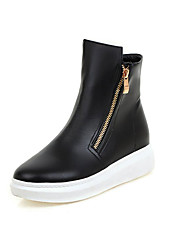 Women's Boots Fall / Office & Career / Athletic / Casual Chunky Heel Others Black / White Snow Boots