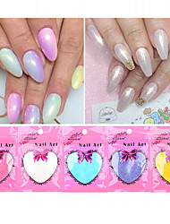 10g/Bag Trend Mermaid Effect Nail Art DIY Glitter Powder Dust Magic Glimmer