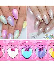 10g / bag efeito sereia tendência da arte do prego de DIY Glitter Pó Poeira brilho mágico