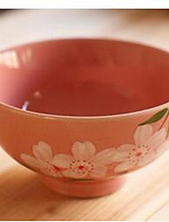 Under The Glaze Color Rice Bowls Four Seasons Flower Bowls
