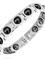 Hologram Bracelet Stainless Steel Fashionable Daily / Casual Jewelry Gift Silver