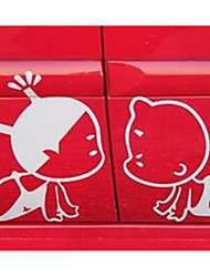Pobaby Kiss Dolls Sticker Car Stickers Personalized Car Door Stickers