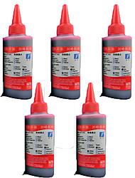 Menge: ein Satz von 5, roter Tinte, geeignet für PS 816 hp817 678 960 901 46