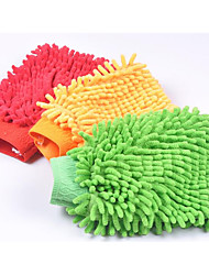 Thickened Chenille Gloves For Cleaning Car Car Washing Supplies