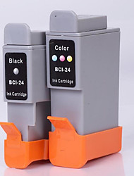 Applicable Canon I250 I255 Printer, Color Ink Cartridge Black (Compatible),One Color+One Black