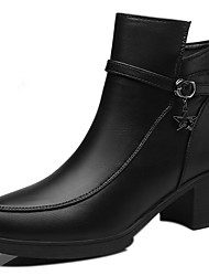 Women's  Boots with PU Upper and KerseymereFur lining