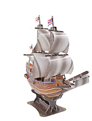 Middle Ages Golden Hind jigsaw 3d puzzles ship model