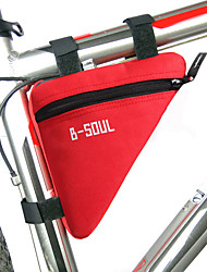 Bike BagBike Frame Bag Waterproof Zipper / Moistureproof / Shockproof / Wearable Bicycle Bag Polyester / PVC / Terylene Cycle Bag