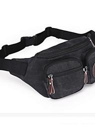 Women Canvas Casual / Outdoor Waist Bag