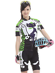 Sports Cycling Jersey with Shorts Women's Short Sleeve Bike Waterproof / Breathable / Comfortable Jersey + Shorts / Clothing Sets/Suits
