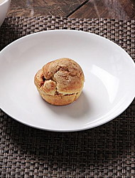 7 pouces soupe plat peu profond contractée et céramique magnésie porcelaine pures