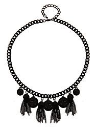 Collier Pendentif de collier Bijoux Noir Alliage Décontracté 1pc Cadeau