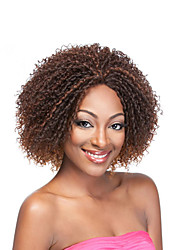 New Cheap Afro Short Kinky Curly Wig Natural Synthetic Hair African American Wig for Black Women