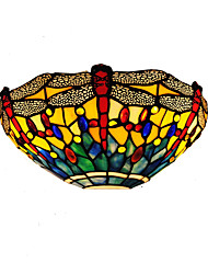 12 inch Retro Country Tiffany Wall Lights Glass Shade Living Room Bedroom light Fixture