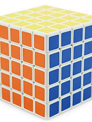 Shengshou® Glatte Geschwindigkeits-Würfel 5*5*5 Fluoreszierend / Profi Level Druck-Helfer / Magische Würfel / Puzzle SpielzeugSchwarz /
