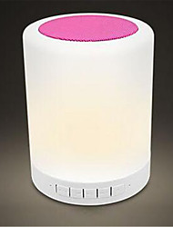 Lamp LED Stereo Bluetooth Speaker Emotion Lamp, Colorful Atmosphere Nightlight Car Audio Speakers