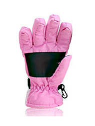 Ski Gloves Winter Gloves Men's / Unisex Activity/ Sports Gloves Keep Warm Gloves Ski & Snowboard / Snowboarding Canvas Ski GlovesPink /
