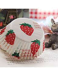 Aniversário Lembrancinhas & Presentes para Festas-100Peça/Conjunto Caixas de bolo Marcador 100% Celulose Virgem Tema Clássico Cilindro