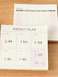 Korean Stationery Work Memo Notes Notepad Schedule This Versatile Little Book