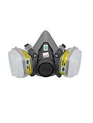 máscaras de gás industrial (6200 + 6002 sete conjuntos (tamanho: m))