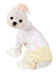 Dog Coat Blue / White / Pink Dog Clothes Winter Fashion