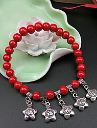 Strand Bracelets Lucky Charms Vintage Daily / Casual Jewelry Gift Red