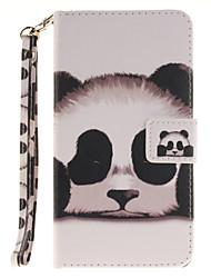 Pour Coque LG Porte Carte Portefeuille Avec Support Clapet Motif Coque Coque Intégrale Coque Animal Dur Cuir PU pour LGLG K10 LG K8 LG K7