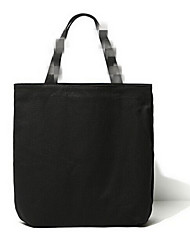 Fashion Shopping Tote Bag Black Canvas Bag Bag Portable Folding Shopping Bag Shopping Bag