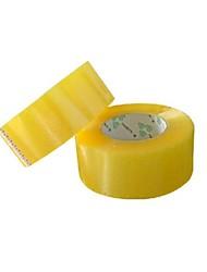 logotipo impreso transparente sellado cinta de cinta adhesiva de la cinta (una venta de 2 volúmenes)