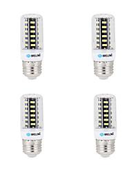 12W E14 G9 GU10 B22 E26/E27 Ampoules Maïs LED B 64 SMD 5733 1000 lm Blanc Chaud Blanc Froid Décorative AC 100-240 V 4 pièces