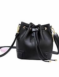 Для женщин Полиуретан На каждый день Ковш сумки