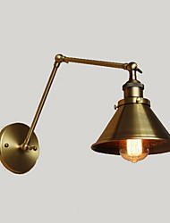 AC 100-240 40 E26/E27 Rustikal/Ländlich Golden Feature for Birne inklusive,Ambientelicht Wandleuchter Wandleuchte